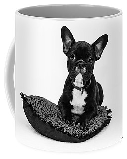 Puppy - Monochrome 5 Coffee Mug