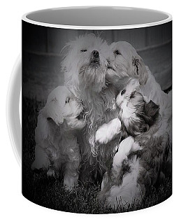 Puppy Vignette Coffee Mug