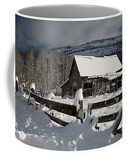 Purcell Mtn Barn Coffee Mug