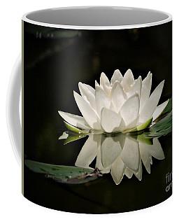 Pure And White Coffee Mug