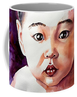 Coffee Mug featuring the painting Pure Potential by Michal Madison