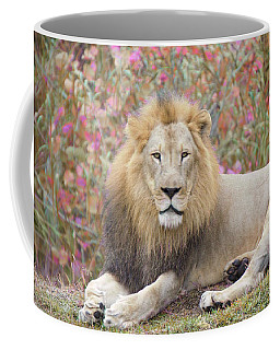 Coffee Mug featuring the painting Purfect Setting by Judy Kay