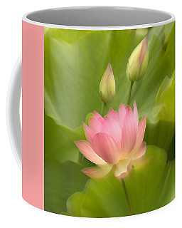 Coffee Mug featuring the photograph Purity Reborn by John Poon