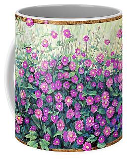 Purple And Pink Flowers Coffee Mug