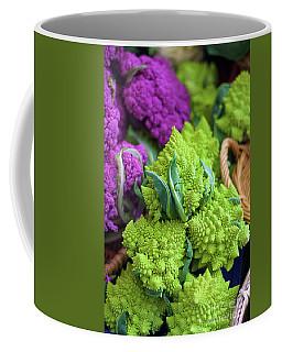 Purple And Romanesco Cauliflower Coffee Mug