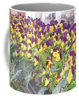 Purple And Yellow Coffee Mug