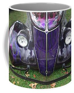 Purple Antique Ford Coffee Mug