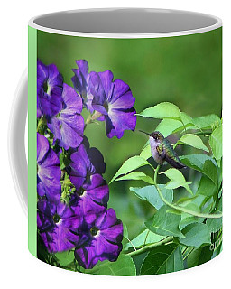 Purple Attraction Coffee Mug