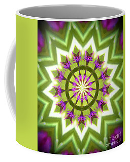 Coffee Mug featuring the photograph Purple Blossom by Shirley Moravec