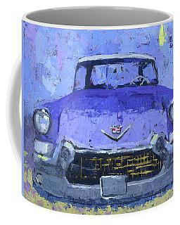 Purple Cadillac Coffee Mug