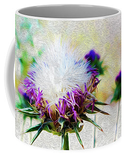 Purple Chaparral  Coffee Mug
