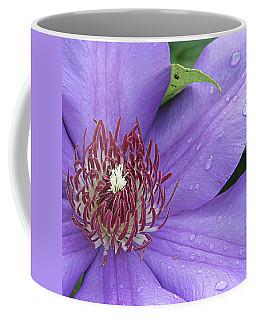 Purple Clematis Coffee Mug
