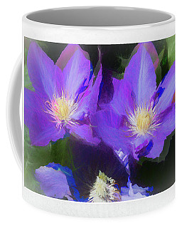 Purple Clementis Coffee Mug