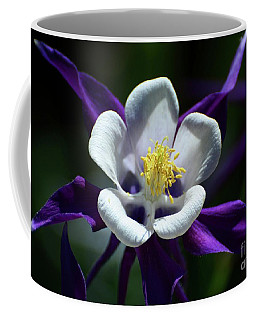 Purple Columbine Coffee Mug