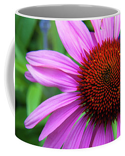 Coffee Mug featuring the photograph Purple Coneflower by Mark Mille
