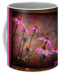 Purple Coneflowers Out Of Alignment  Coffee Mug