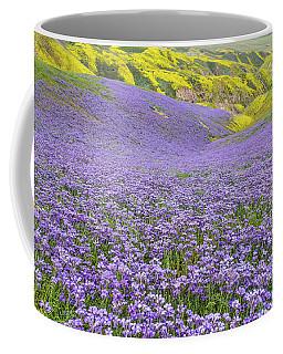 Purple  Covered Hillside Coffee Mug