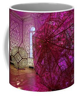 Purple Cubes Coffee Mug