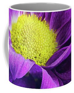Purple Daisy In The Garden Coffee Mug