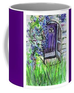 Purple Doorway Coffee Mug