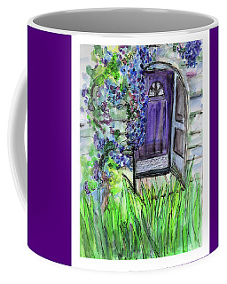 Purple Doorway Coffee Mug