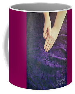 Purple Dress Coffee Mug by Lyn Randle