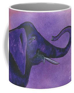 Purple Elephant Coffee Mug