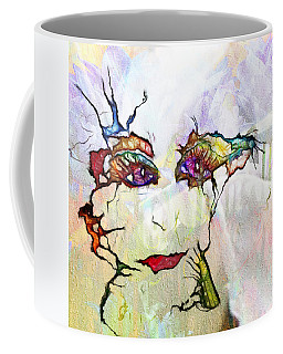 Purple Eyed Nymph Coffee Mug