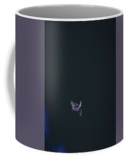 Purple Feather1 Coffee Mug