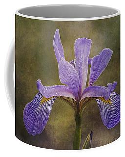 Purple Flag Iris Coffee Mug