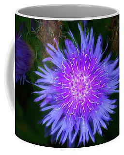 Purple Flower From Mars Coffee Mug