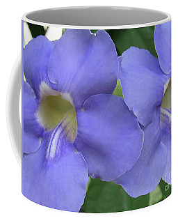 Purple Flower Picture Perfect Coffee Mug