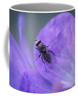 Purple Fly Coffee Mug