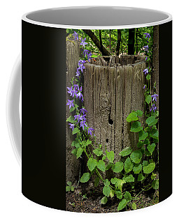 Purple Garland Coffee Mug