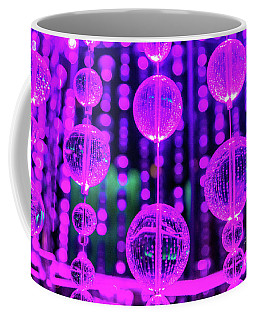 Purple Glass Coffee Mug