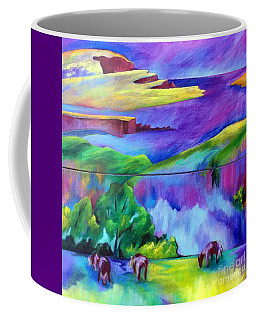 Purple Graze Coffee Mug