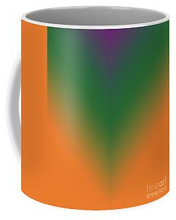 Purple, Green And Orange Coffee Mug