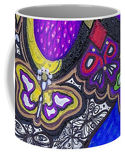 Purple Growth Coffee Mug