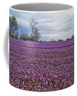 Coffee Mug featuring the photograph Purple Haze by Cricket Hackmann