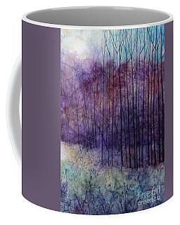 Coffee Mug featuring the painting Purple Haze by Hailey E Herrera
