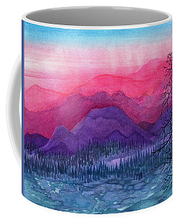 Purple Hills Coffee Mug