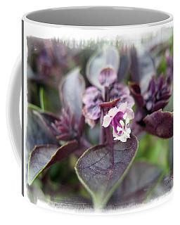 Coffee Mug featuring the photograph Purple In Autumn by Joan  Minchak