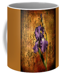 Purple Iris At Sunset Coffee Mug