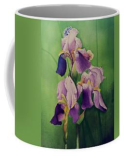 Purple Iris' Coffee Mug