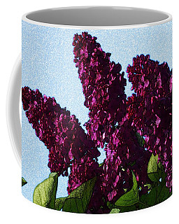 Purple Lilac 3 Coffee Mug