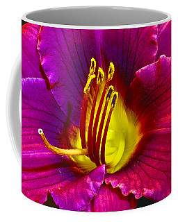 Coffee Mug featuring the photograph Purple Lily by Bill Barber