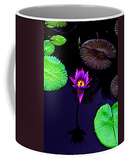 Purple Lily Coffee Mug