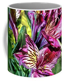 Purple Lily Coffee Mug by Mark Dunton
