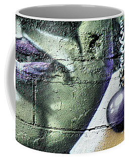 Purple Lips And Earring Coffee Mug