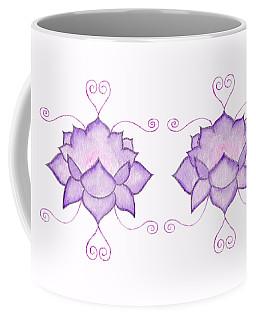 Purple Lotus II Coffee Mug